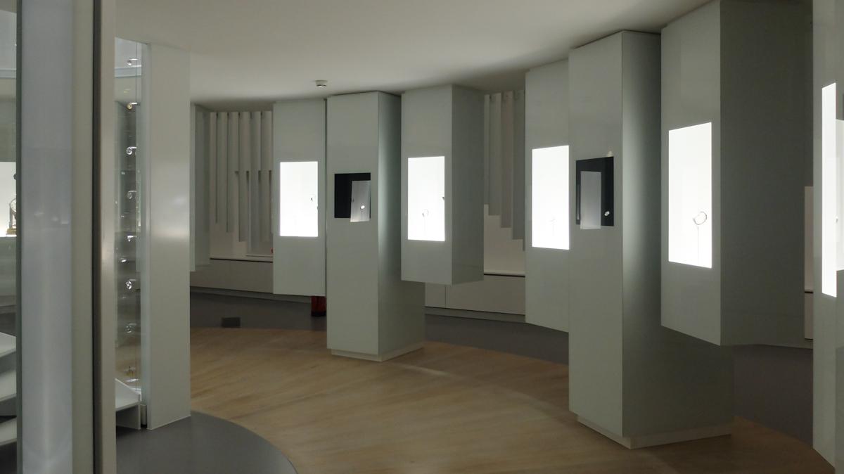 Jaeger-LeCoultre Uhrenmanufaktur und Ausstellung in Le Sentier
